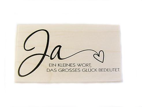 Ja, Stempel Zur Hochzeit, Trauung, Verlobung, Liebe, Einladung Karten  Gestalten