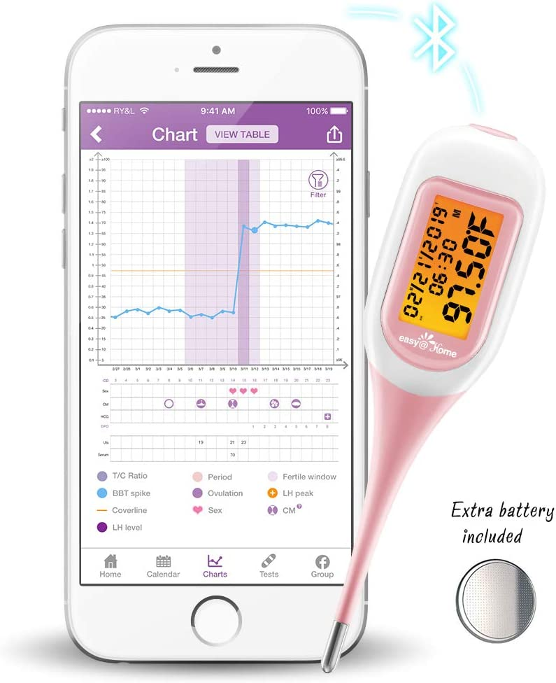 Easy@home Smart BBT Ovulation Thermometer Image