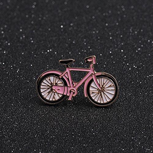 Bike Brooch Pin - I love the bike collar pin brooch