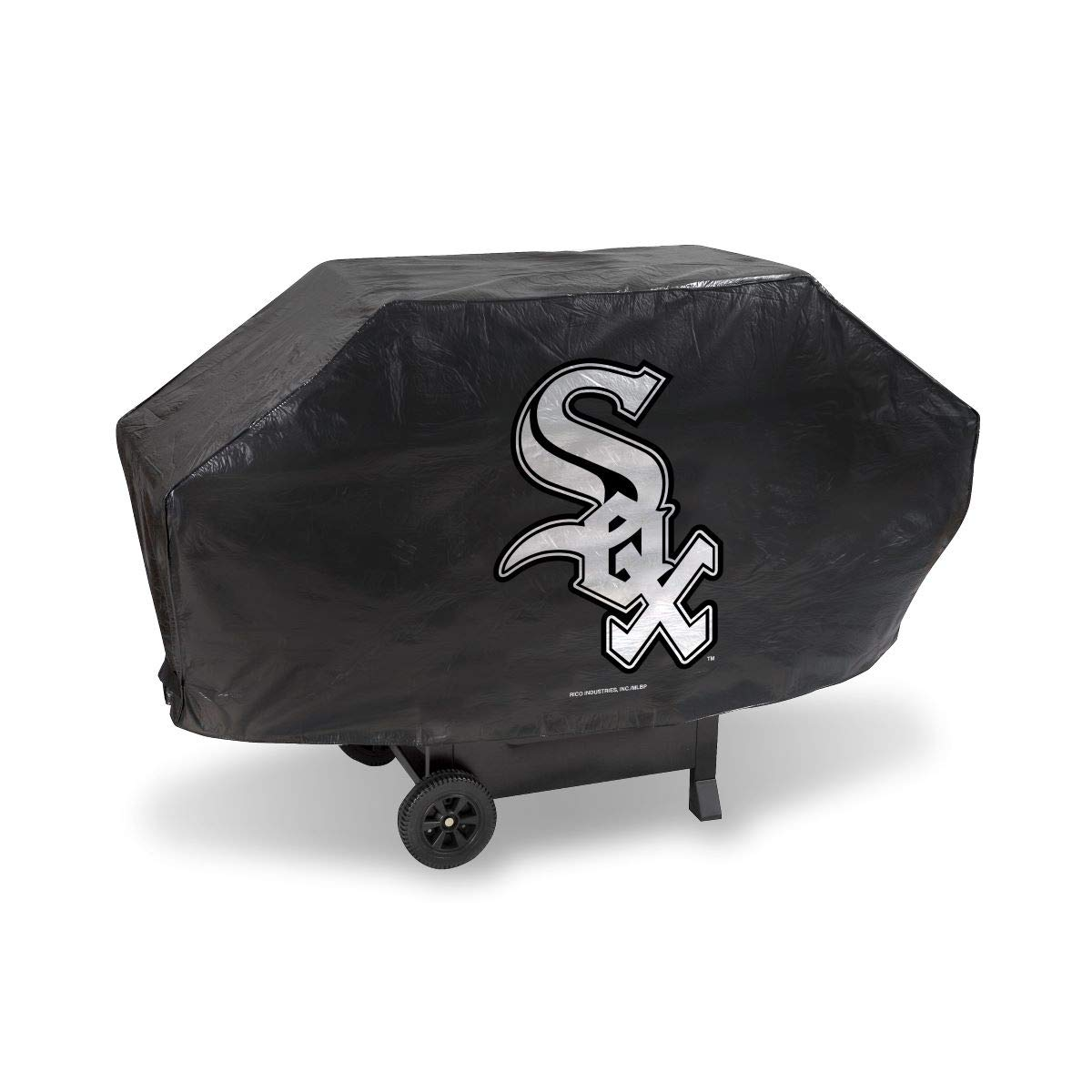 One Size Team Colors Rico MLB Chicago White Sox Grill CoverDeluxe Grill Cover