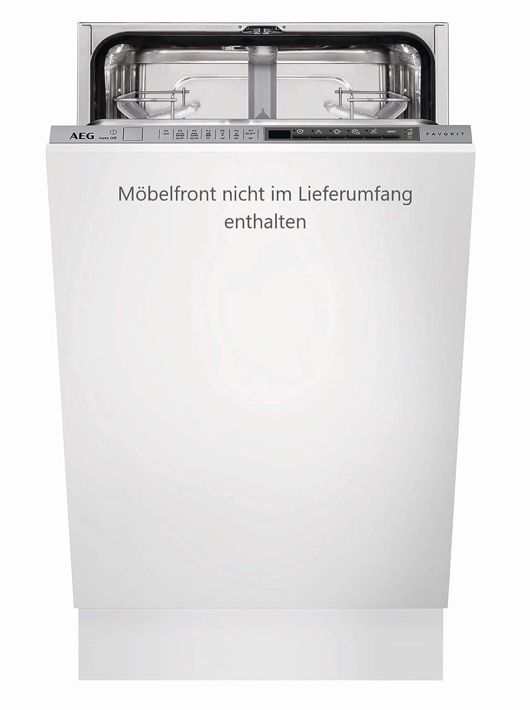 AEG FSE63400P Totalmente integrado 9cubiertos A+ Totalmente integrado, Plata, Botones, Fr/ío, Caliente, 9 cubiertos, 44 dB Lavavajillas lavavajilla