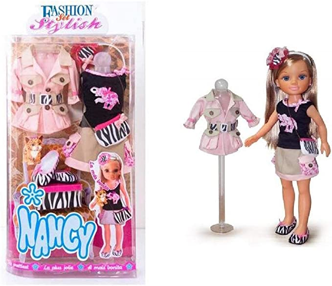 Amazon.es: FS Famosa - Ropa para la muñeca Nancy, Fashion Set Stylish Safari (70005410) 165