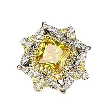 028ef2cb80bac Amazon.com: Ring for Women,nikunLONG,Luxury Party Engagement Ring ...