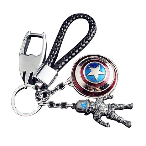 Womdee Llavero Pop, Marvel Llavero Superhéroe Avengers ...