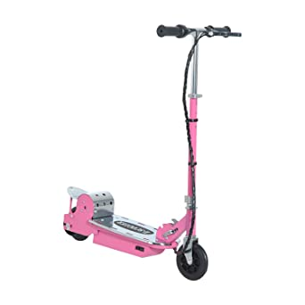 Homcom patinete scooter eléctrico para niños plegable 120 W ...