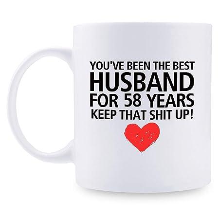 Anniversario Di Matrimonio Regali Per Lui.Regali Per 58 Anniversario Di Matrimonio Regalo Per Una Coppia