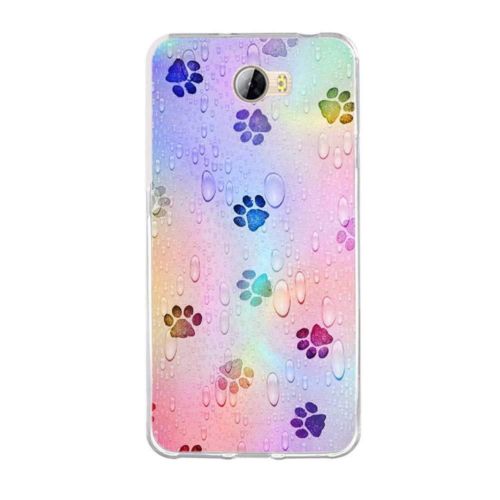 Amazon.com: GSYDSJK - Carcasa de silicona para Huawei Y5 II ...