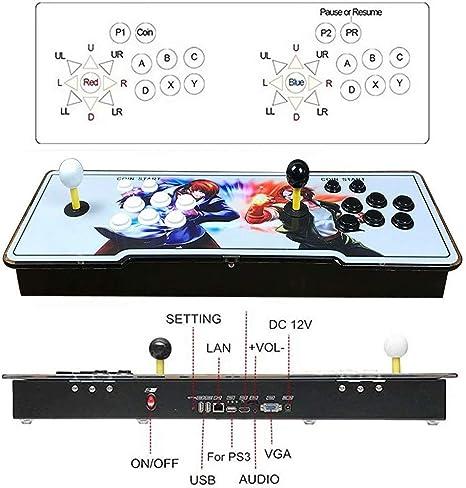 LP-LLL Pandora Box Arcade Console - Arcade Games Console Retro Games Pandoras Box Arcade Machine 1280 x 720 Sistema de Juego Compatible con PS3 PC TV, Arcade Joystick: Amazon.es: Hogar