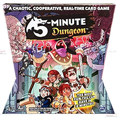 5 - Minute Dungeon Fun Card Game for Kids and Adults: Toys & Games