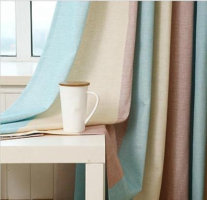 Rayas Impreso ventana cortinas para el dormitorio Fancy niños ...