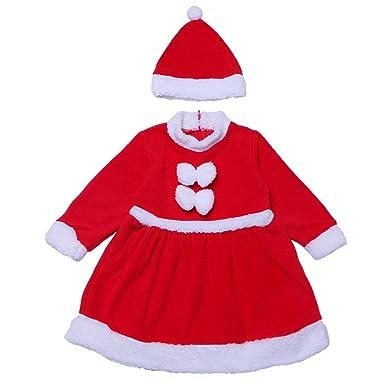 EraSpooky Bebé Papá Noel Navidad Santa Traje de Terciopelo ...