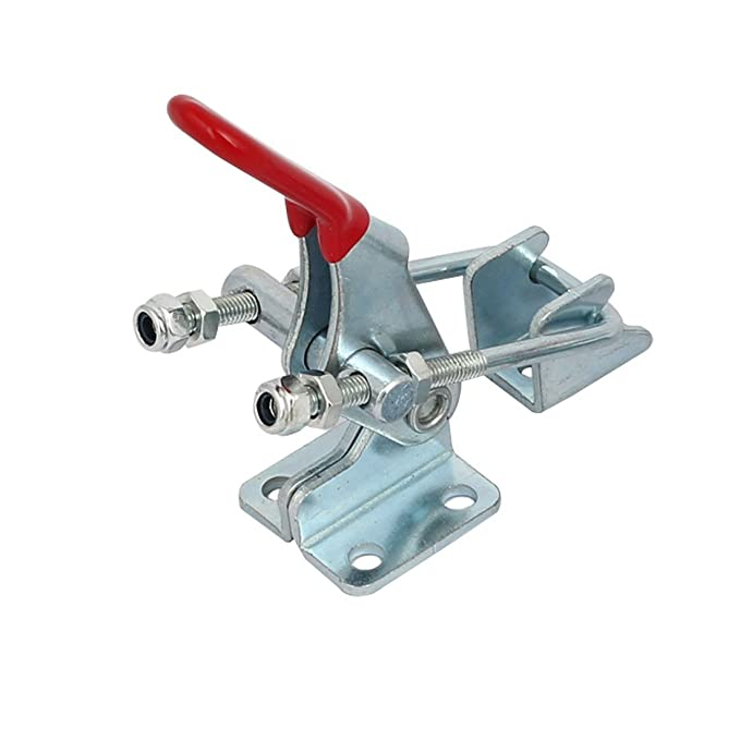 En forma de U eDealMax 163Kg capacidad de retención de galvanizado de sujeción Bar Toggle Clamp GH-40323 - - Amazon.com