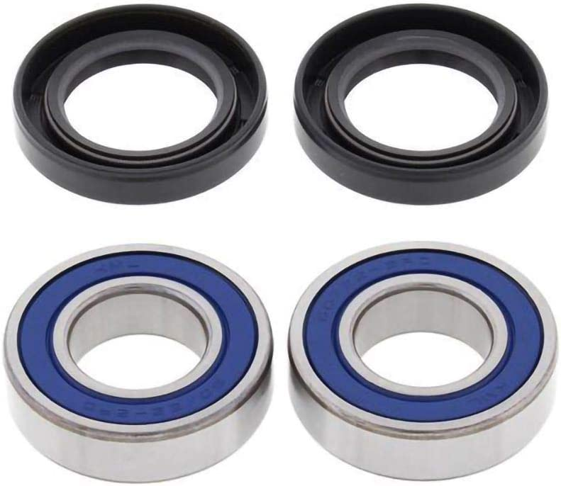 All Balls Front Wheel Bearing Kit Replacement For 09-19 YAMAHA YFZ450R