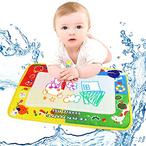 3' Basketball Sports Figure (TAORE 4Color Water Drawing Mat Board &Magic Pen Doodle Kids Toy Gift 46X30cm)