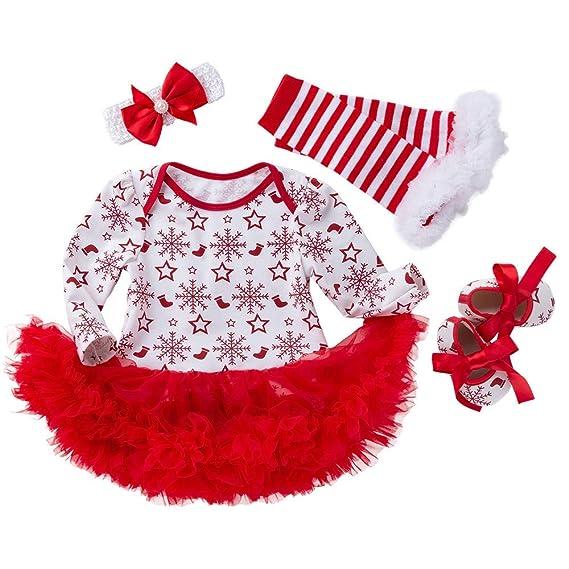 Set Babbo Natale Neonato Vestito 4 Feixiang Pezzi Di pIwza