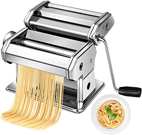 Stainless Steel Noodle Maker Manual Noodle Press Fresh Pasta Press Machine
