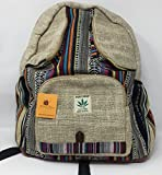 Himalaya Clothing has your back! Bringing you the beauty, comfort, and quality of Himalayan manufacturing in one incredible unisex backpack. Himalaya Clothing backpacks are made from 100% THC free hemp materials that is guaranteed not to wear-out, bu...