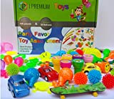 I Premium Big 100 Piece Party Favor Toy Assortment for Kids. 20 Bonus Balloons. Perfect for Fun Birthday Parties, Classroom Rewards, Carnival Prizes, Pinata. Tested, Safe for Kids. Just Add Summer.