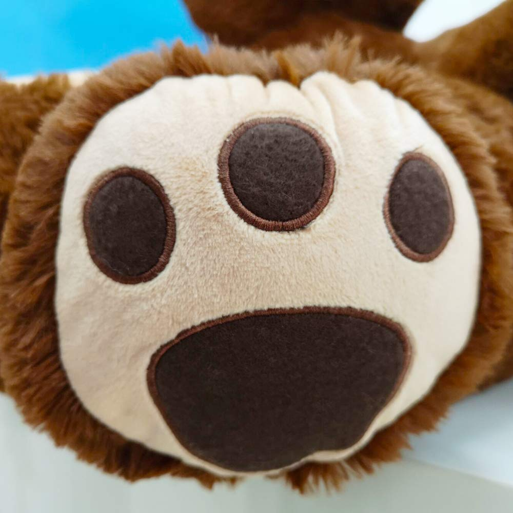 Crazy lin Kindersessel grau brownbear Sitz Sofa Stuhl Baby kuscheln Sofa pl/üschtier Schlafzimmer spielzimmer Bear