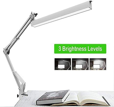 Lámpara de escritorio LED, lámpara de trabajo de arquitecto, brazo ...