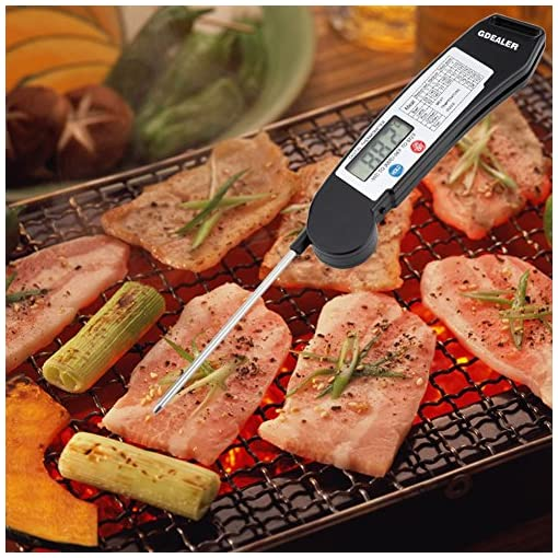 GDEALER Instant Read Thermometer Super Fast Digital Electronic Food Thermometer