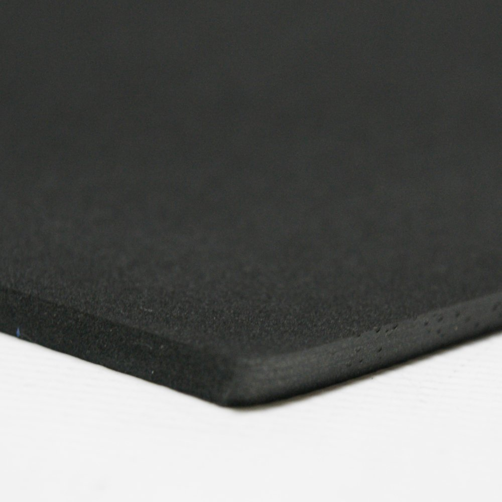 1//2 Thick x 39 x 78 Black Rubber-Cal 02-128-0500 Closed Cell Rubber Neoprene: Rubber