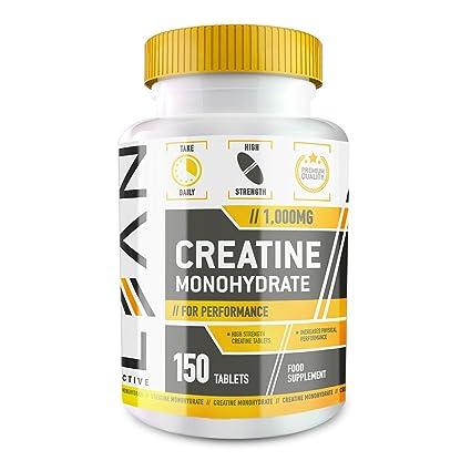 LEAN Nutrition Creatina Monohidrato - Suplemento para deportistas - 1000mg de creatina pura - 150 cápsulas