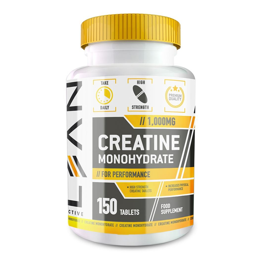 LEAN Nutrition Creatine Monohydrate Tablets 1000mg - 150 Tablets