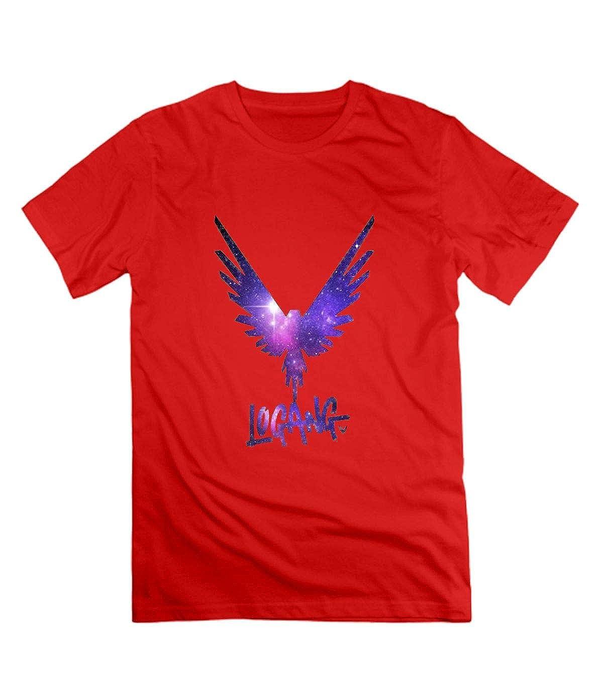 WANGRED Logan Paul Mens Shirts