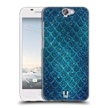 Head Case Designs Glitters Mermaid Scales Hard Back Case for HTC One M9