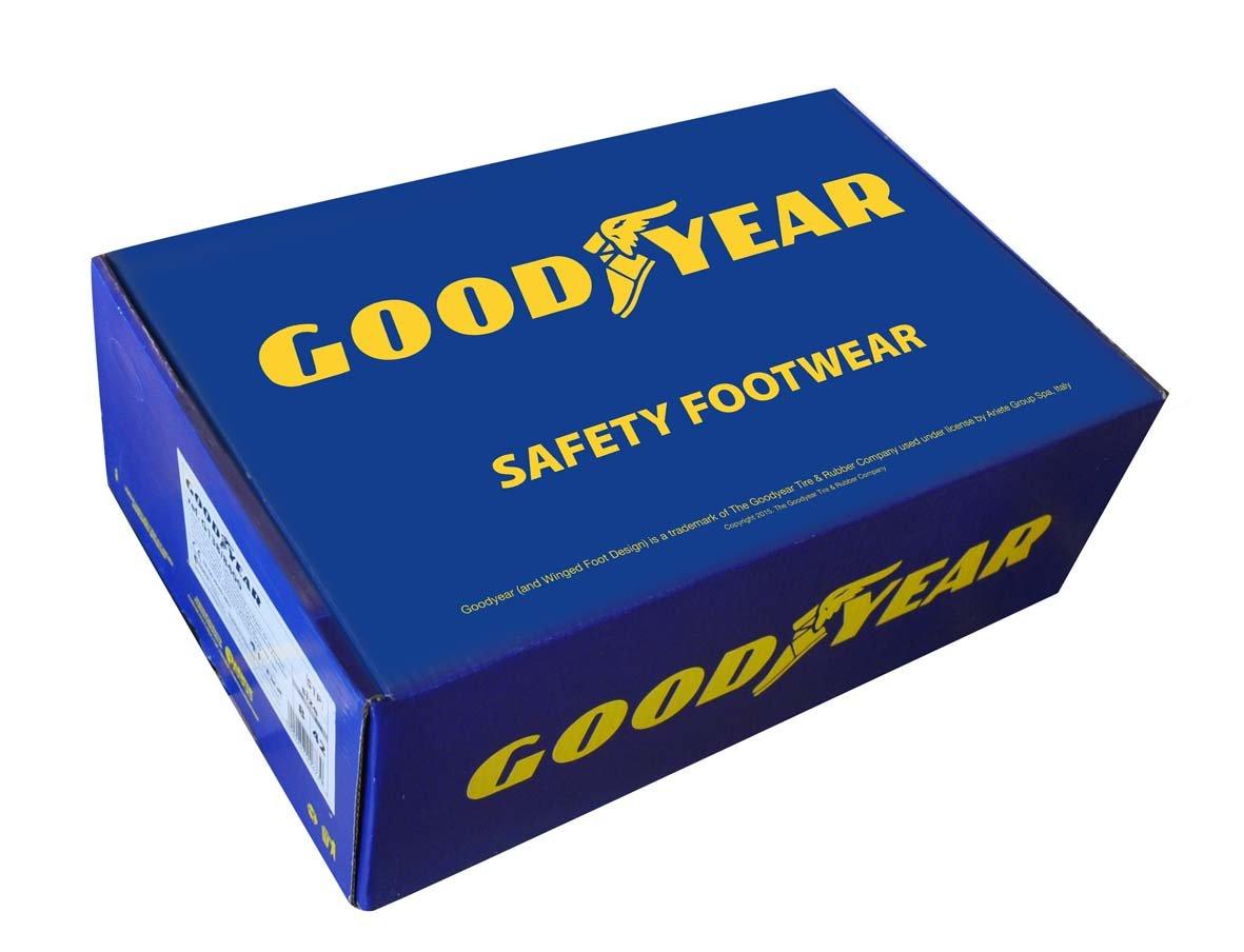Sandali antinfortunistica in microfibra Goodyear taglia 36