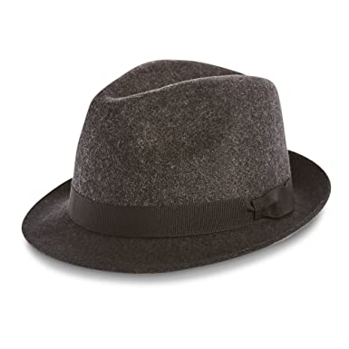 0a00504e Marks & Spencer M&S Collection 100% Pure Wool Felt Trilby Hat ...
