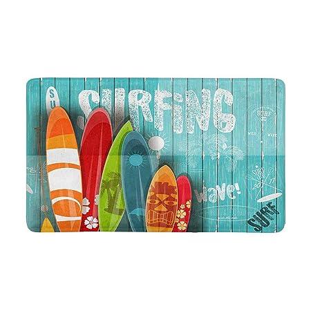 Cartel de tabla de surf de verano en estilo vintage sobre ...