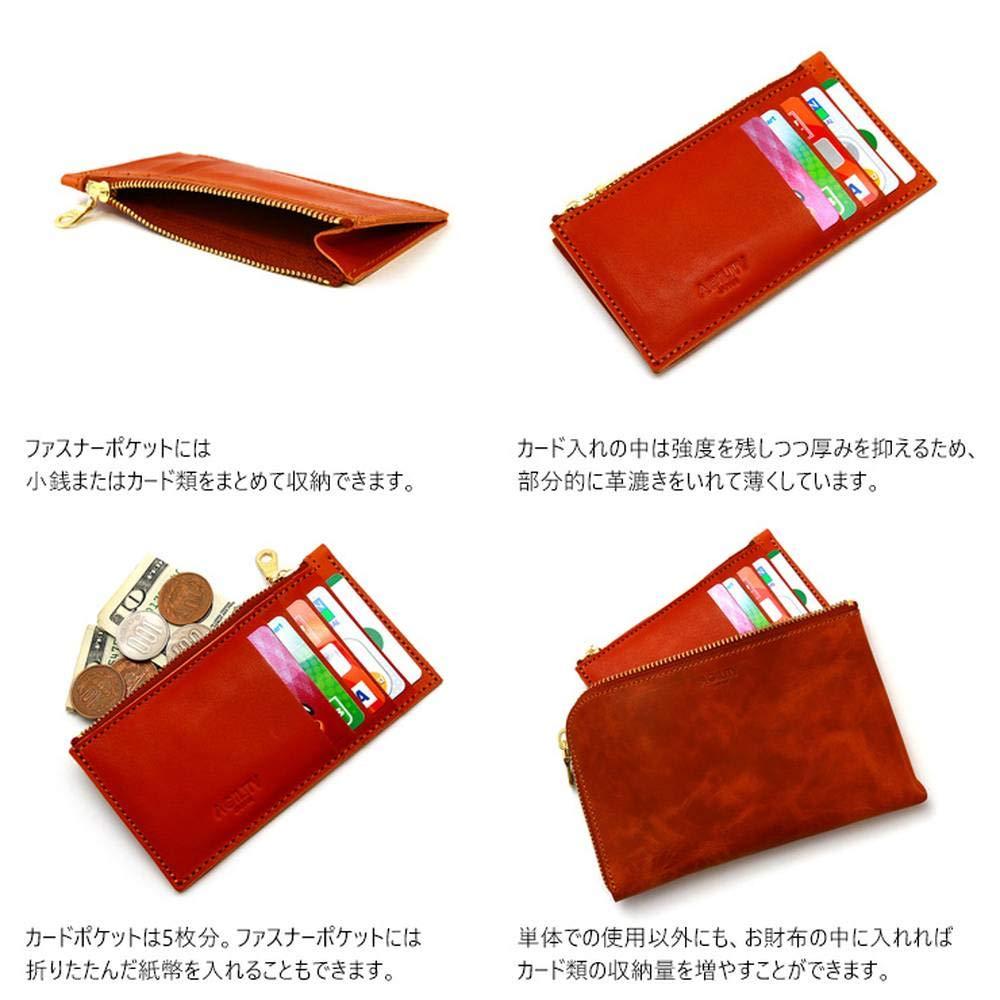 f2f3088c3075 Amazon | アジリティアッファ(AGILITY affa)『パーティション』カードケース インナーカードケース 財布 小銭入れ ウォレット 革  レザー | 財布