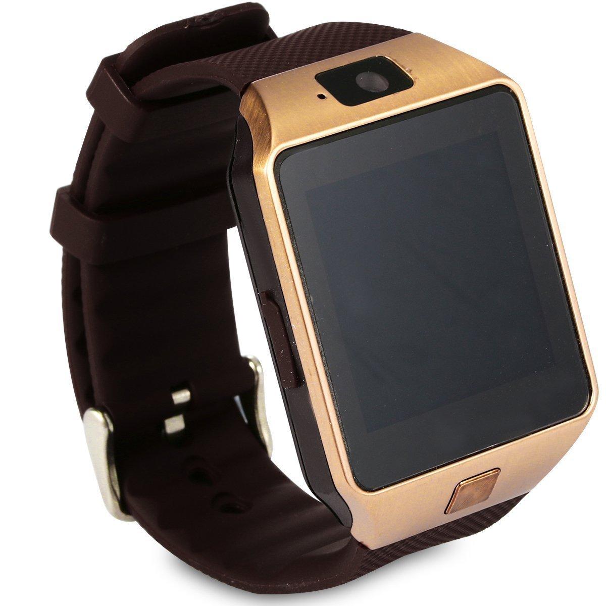 9801f882a95 DZ09 Bluetooth Smart Watch with SIM Card Slot Make  Amazon.co.uk   Electronics