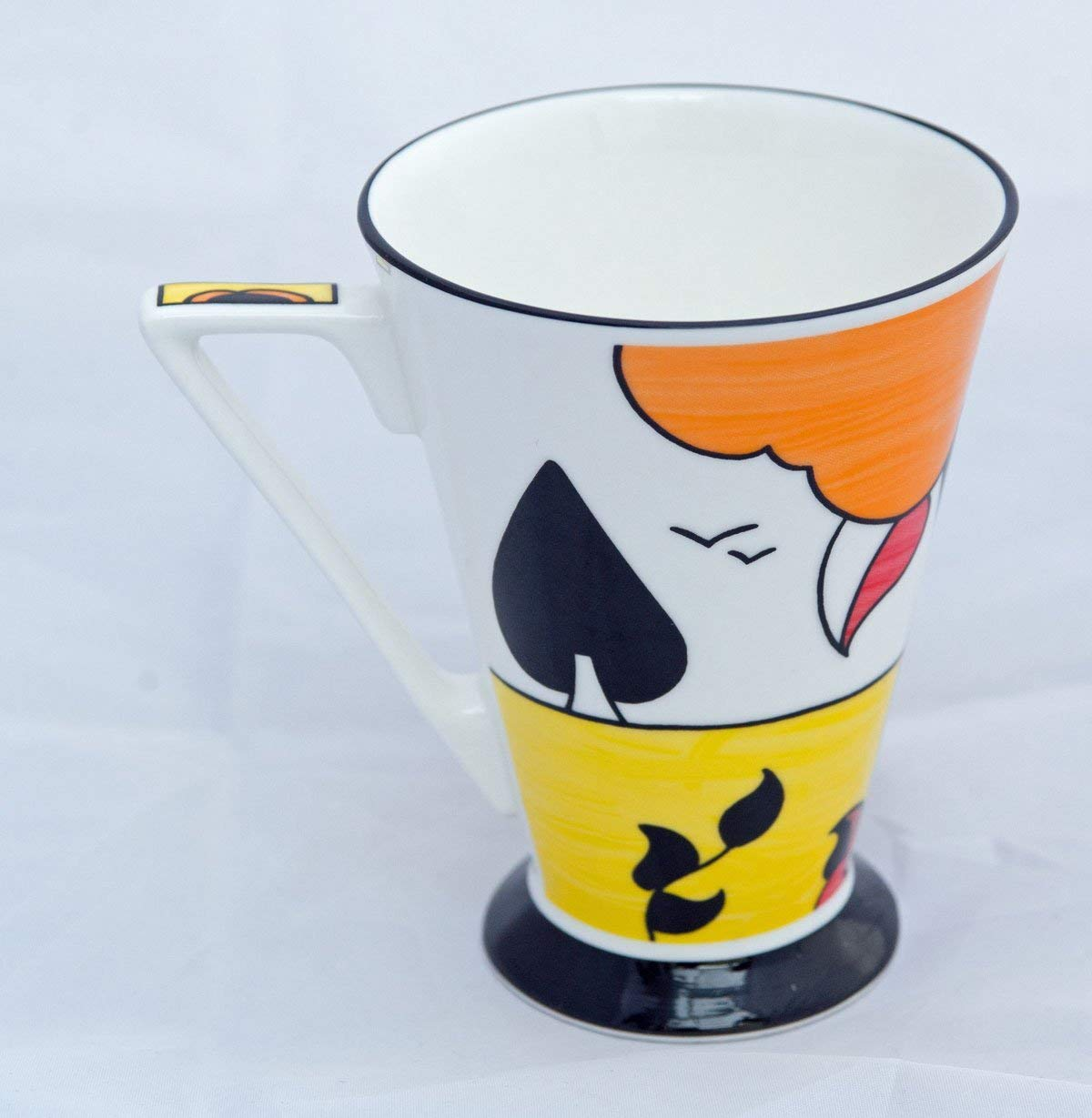 Delightful Pair Of Art Deco Style Fine Bone China Mugs From The Chris Rogers Originals Collection Buy Online In India At Desertcart In Productid 52988029