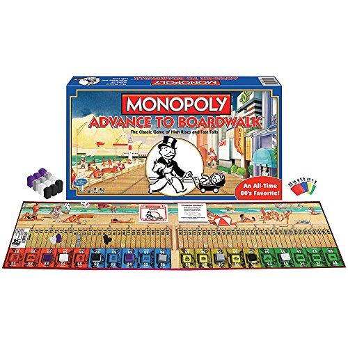 Monopoly Advance To Boardwalk Hotel Game - An All Time Favorite - 2-4 player