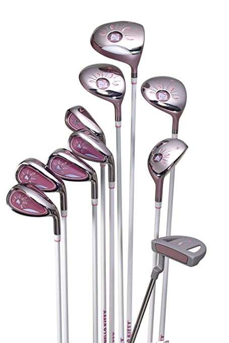 26cf41c7f4 Amazon.com   Hello Kitty Ladies Golf Set 10 pcs.   Sports   Outdoors