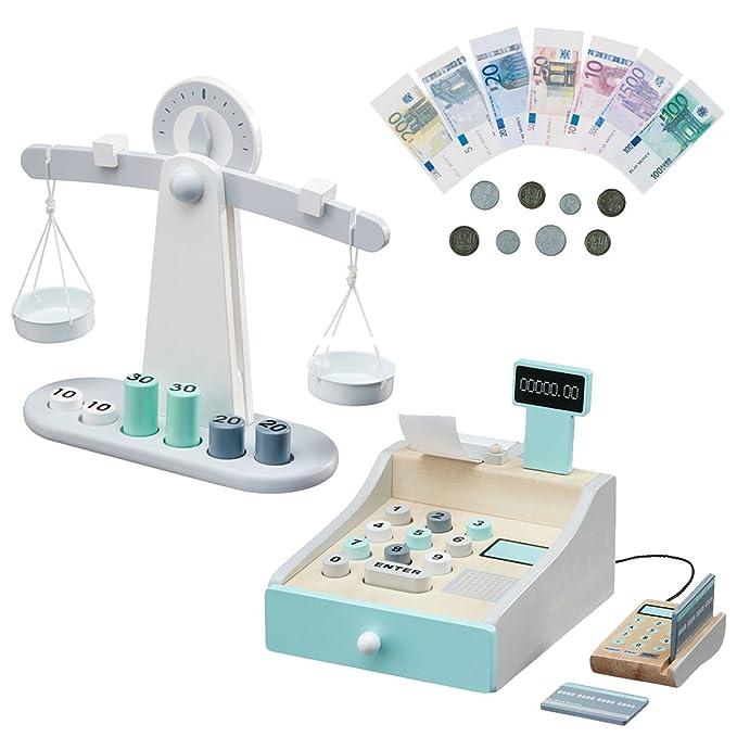 Kaufladen Kasse und Kaufladen Waage - Kids Concept Set