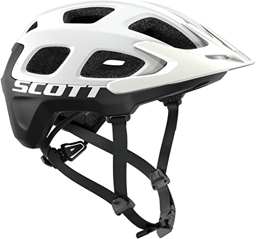 Scott White/Black Casco Vivo Unisex Adulto: Amazon.es: Deportes y ...