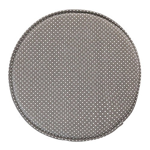 Fabric Chair Seat Student Thickened Round Pad Bar Stool Pad (gray)