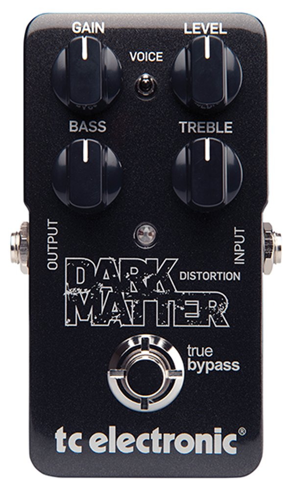 TC Electronic Dark Matter Distortion Effect Pedal by TC Electronic