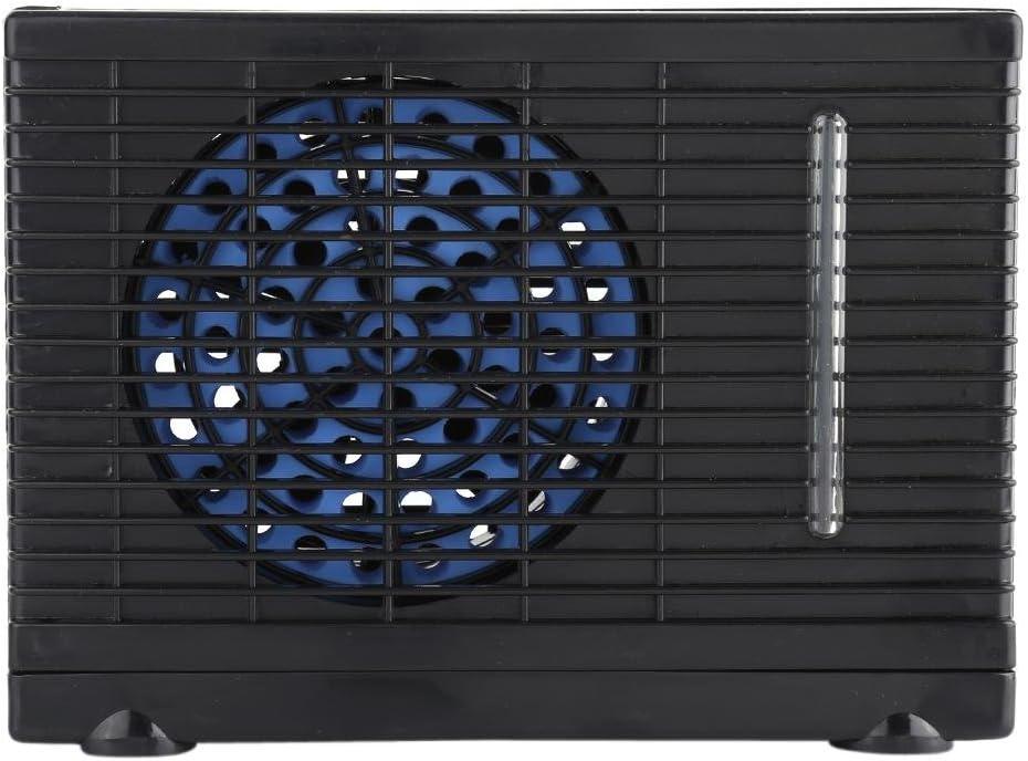 Ventilador de acondicionador de coche, respetuoso con el medio ambiente Camión de coche portátil de 12 V Hogar Mini refrigerador de aire Ventilador de enfriamiento por agua evaporativo Ventilador de e