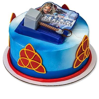 Decopac Thor Dark World Hammer DecoSet Cake Topper: Toys & Games