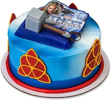 Super Amazon Com Decopac Thor Dark World Hammer Decoset Cake Topper Personalised Birthday Cards Paralily Jamesorg