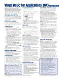 Visual Basic for Applications (VBA) 2013 Quick Reference Guide: Introduction (Cheat Sheet of Instructions, Tips & Examples - Laminated)