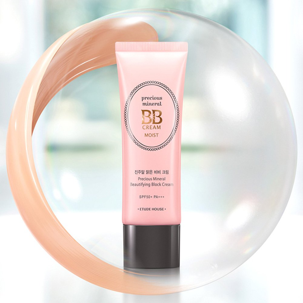 Amazon.com : Etude House Precious Mineral BB Cream Moist (Sand ...