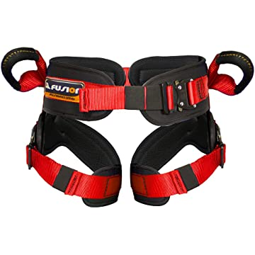mini Fusion Climb Rebounder Padded Half Body Bungee-Trampoline Harness Red