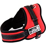 Pershoo Large Dog Harness Panda Non-Pull Soft Padded Dog Body Harness Vest Heavy Duty Big Dog Assistance,3 Colors