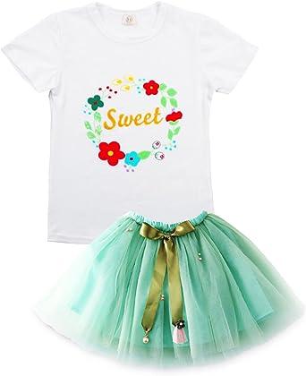 Sooxiwood Little Girls Hoodies Cartoon Printing Flower